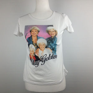 GOLDEN GIRLS STAY GOLDEN tee shirt size S